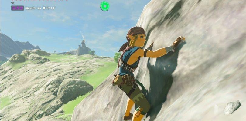 Zelda: Breath of the Wild descartó las armas durante la escalada
