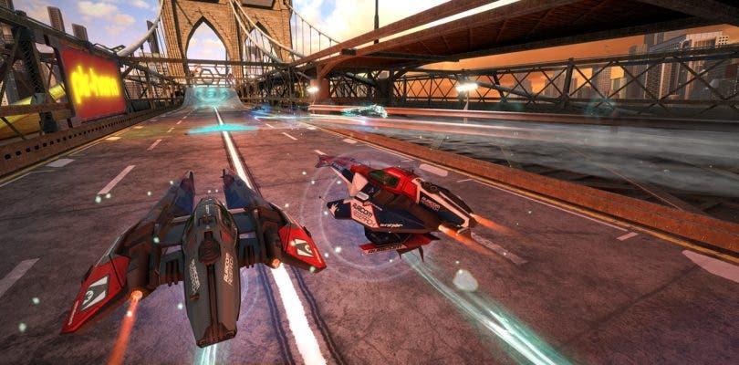 WipEout Omega Collection lanza hoy su beta cerrada en PlayStation 4
