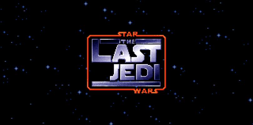 Recrean el tráiler de Star Wars: Los Últimos Jedi en 8 bits