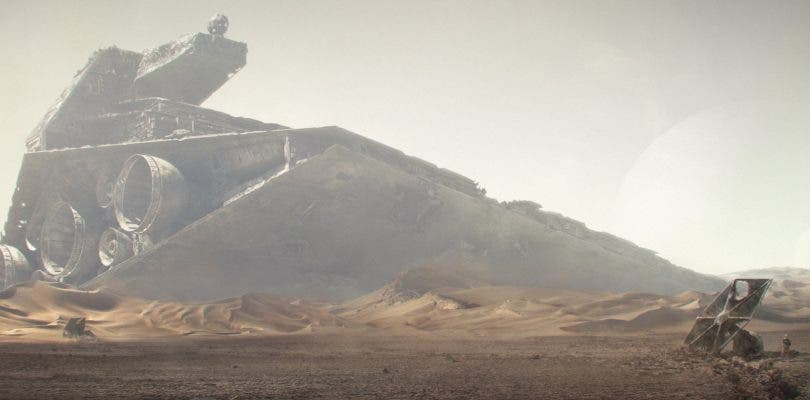 Jakku iba a ser un planeta helado en el Episodio VII de Star Wars