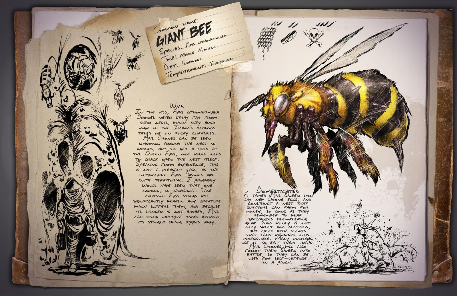 Abeja Gigante Ark: Survival Evolved
