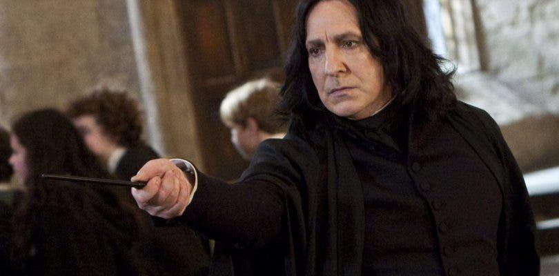 J.K. Rowling se arrepiente de matar a Snape en Harry Potter