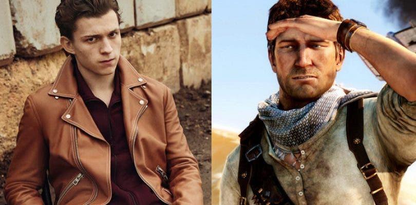 Tom Holland será un joven Nathan Drake en la película Uncharted