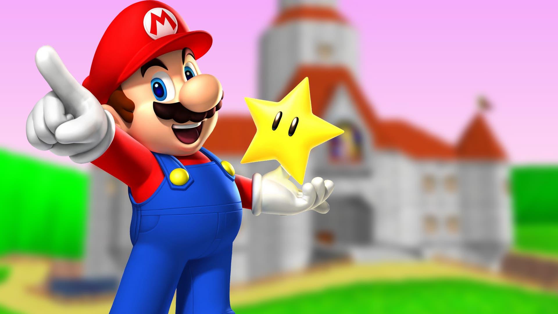 Imagen de Así se ve Super Mario 64 a 4K y 60 fps