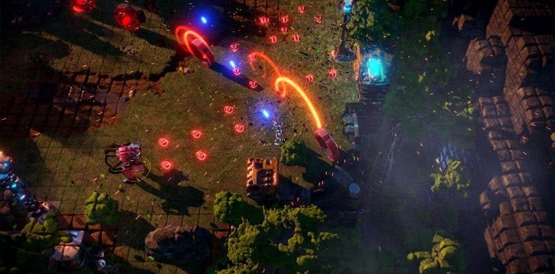 La beta cerrada de Nex Machina ya posee fecha para PlayStation 4