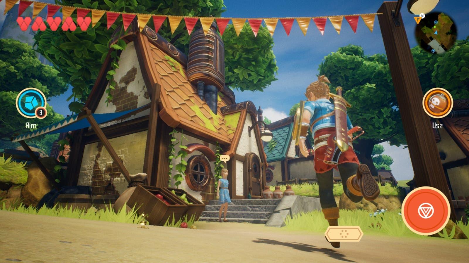 Imagen de Oceanhorn 2 muestra material in game en un nuevo vídeo