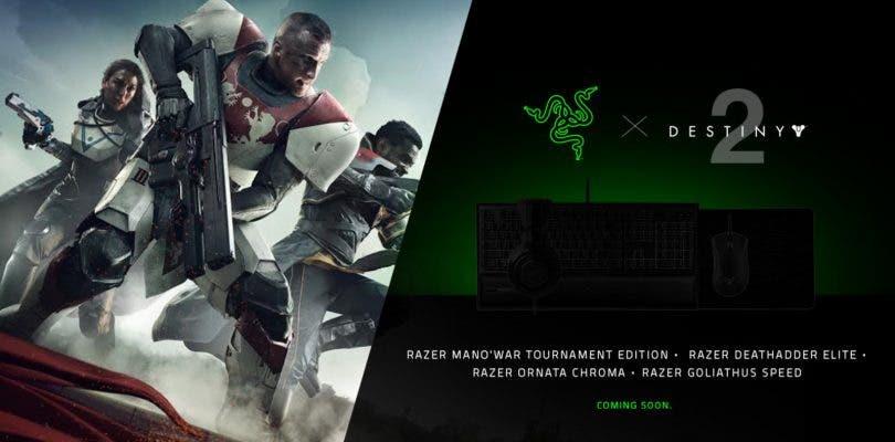 Razer publicará una serie de periféricos con temática de Destiny 2