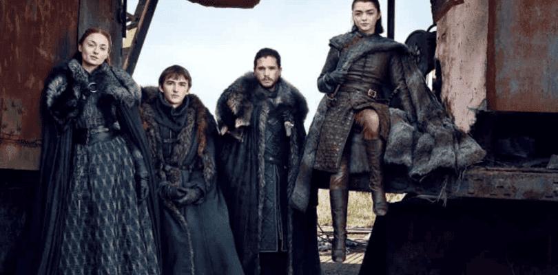 Los Stark se reúnen en las nuevas fotos de Juego de Tronos