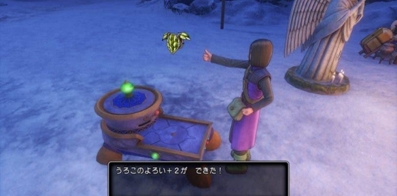 Nuevas imágenes sobre el proceso de forja de Dragon Quest XI