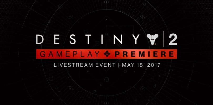 Sigue en directo el primer gameplay de Destiny 2