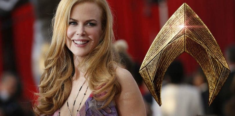 Nicole Kidman llega al rodaje de Aquaman rodeada de misterio