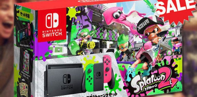 Pack Nintendo Switch y Splatoon 2
