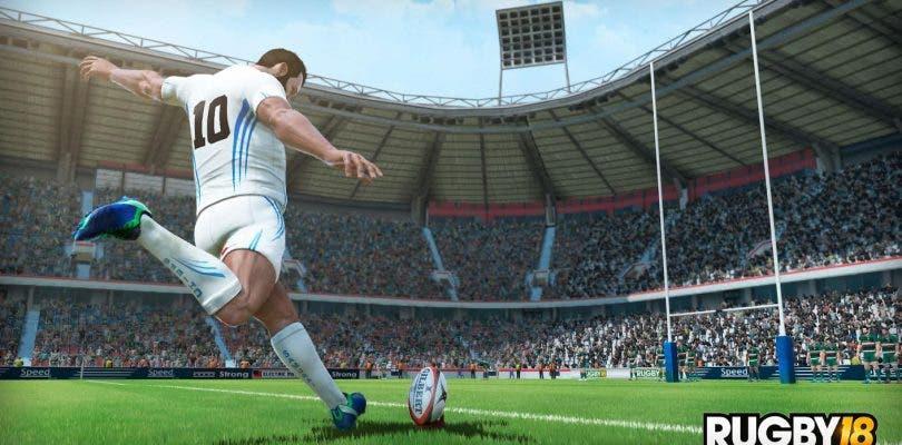 Ya está aquí el primer tráiler de Rugby 18
