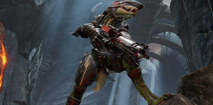 Quake Champions presenta a la reptiliana Sorlag