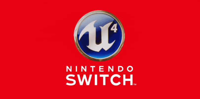 Switch ya tiene soporte nativo para Unreal Engine 4