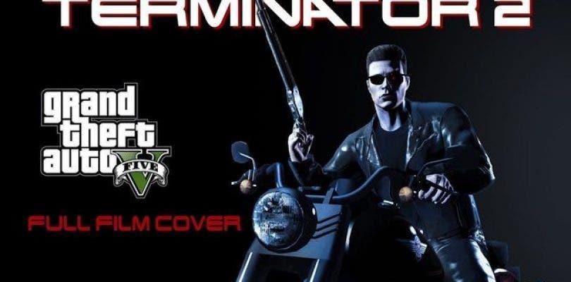Un usuario recrea Terminator 2 casi al completo en GTA V