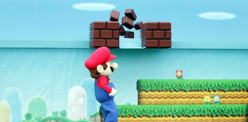 El primer edificio de Super Nintendo World ya ha sido construido
