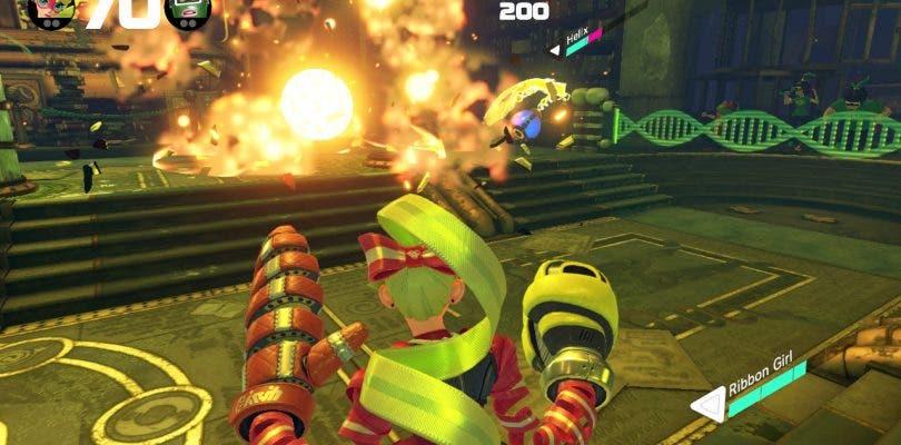 Nintendo celebra la llegada de la versión 3.2 de ARMS con un nuevo arte