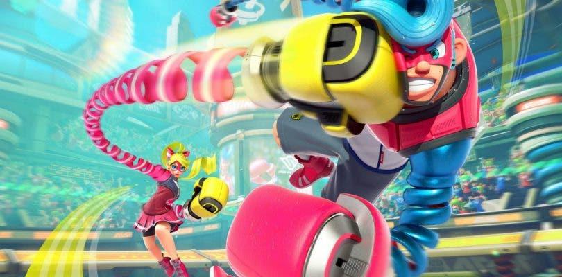 Nintendo trata de revitalizar ARMS con Party Crash Bash