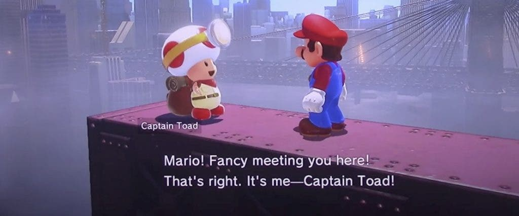 Captain Toad Super Mario Odyssey