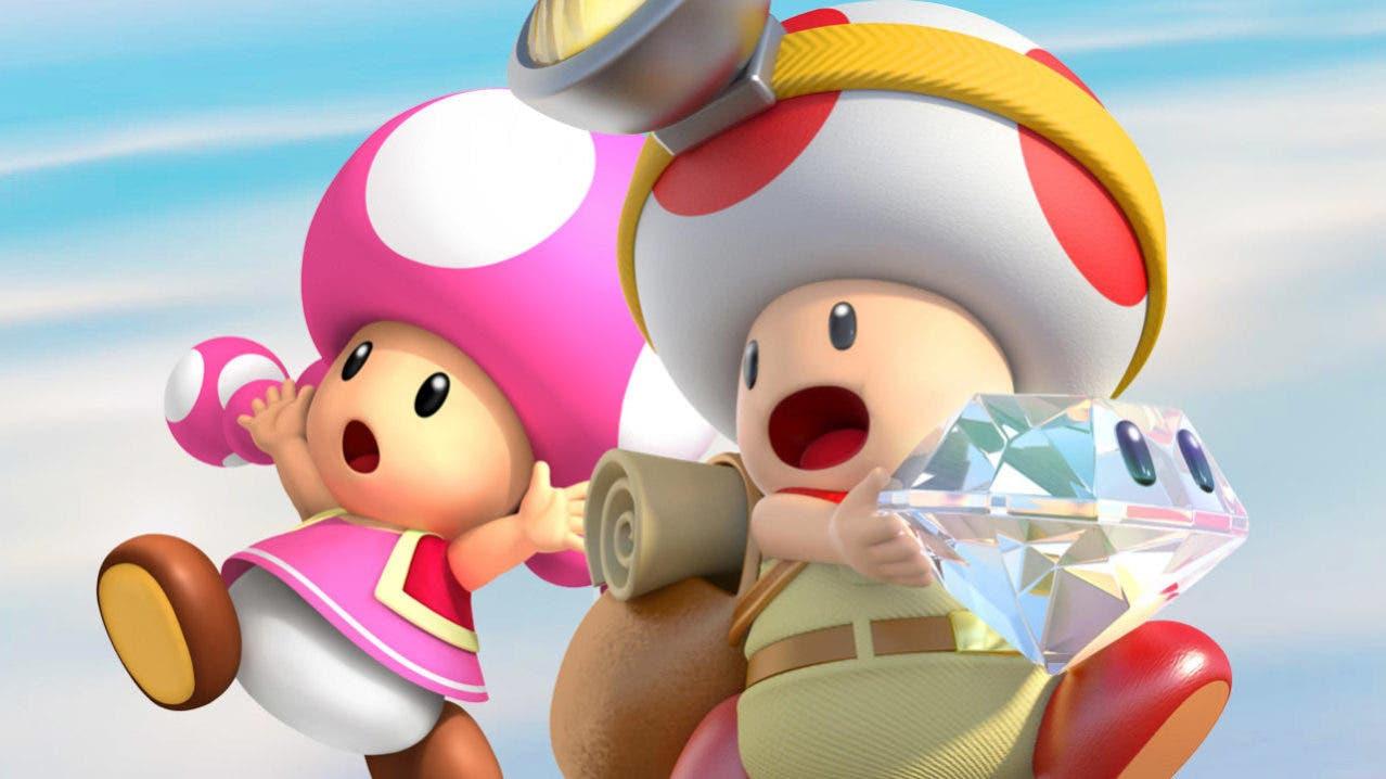 Imagen de Este es el espacio que ocupará Captain Toad: Treasure Tracker en Nintendo Switch