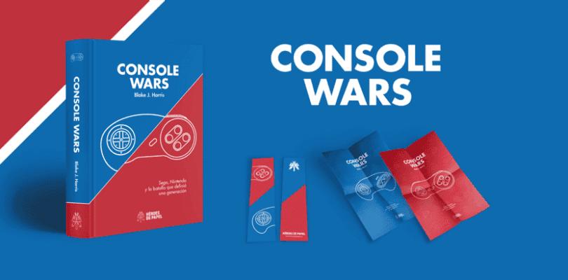 Console Wars ya está a la venta en España