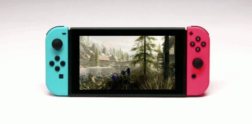 Se muestra el primer gameplay de Skyrim en Nintendo Switch