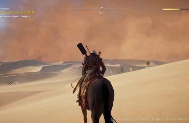Assassin's Creed Origins en Xbox One X luce sus primeros minutos