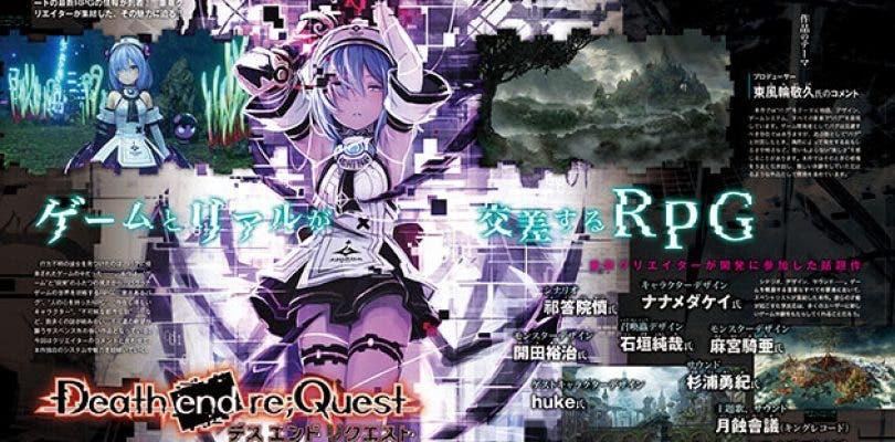 Anunciado Death end re;Quest  para PlayStation 4