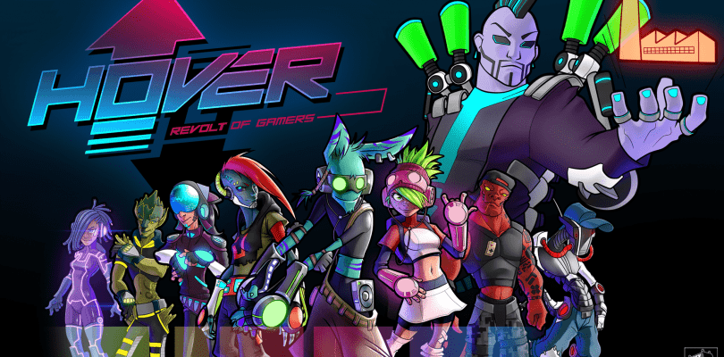 Hover: Revolt of Gamers para Switch tendrá cross-play con PC y Xbox One