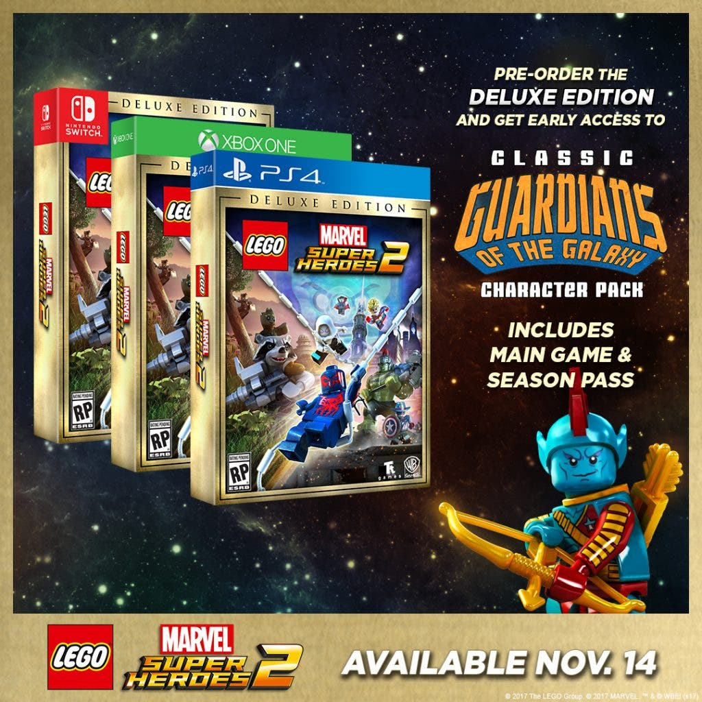 Lego Marvel Super Heroes 2 Deluxe Edition Llegara A Nintendo Switch