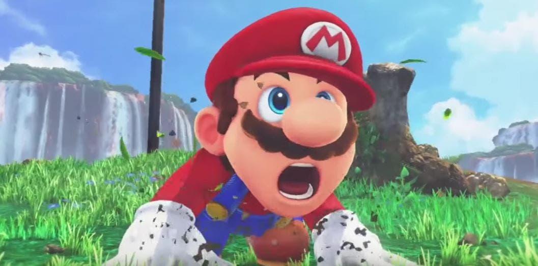 Imagen de Nintendo comparte una pequeña parte del arte conceptual de Super Mario Odyssey