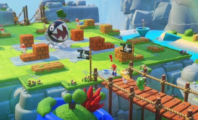 Mario + Rabbids Kingdom Battle. Nintendo
