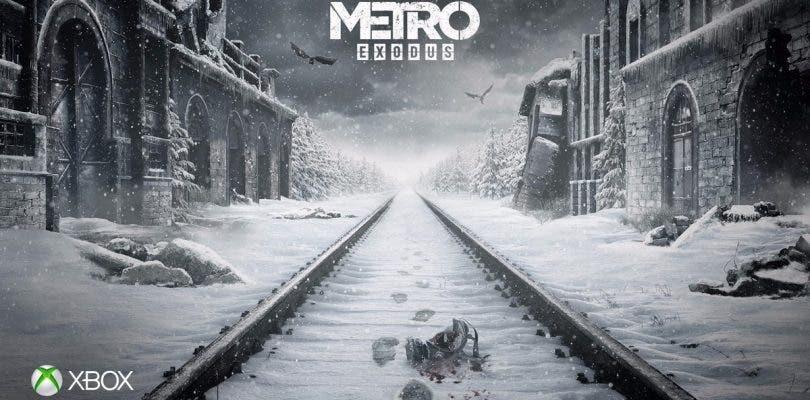 Los responsables de Metro Exodus están entusiasmados con Xbox One X