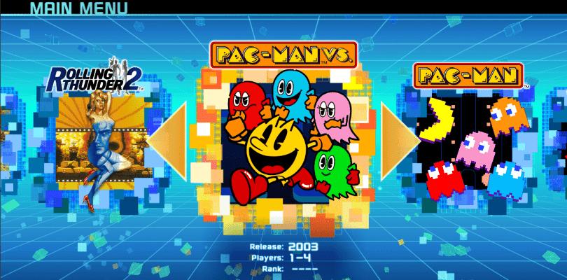 Namco Museum recibe fecha de lanzamiento y el anuncio de Pac-Man Vs.