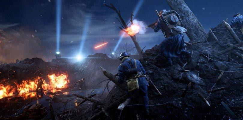 Battlefield 1 recibe un nuevo mapa nocturno: Noches de Nivelle