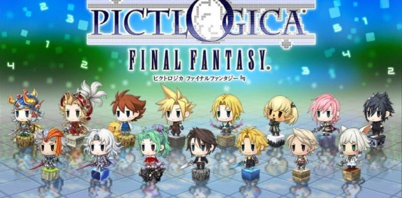 Square Enix anuncia Pictologica Final Fantasy para 3DS