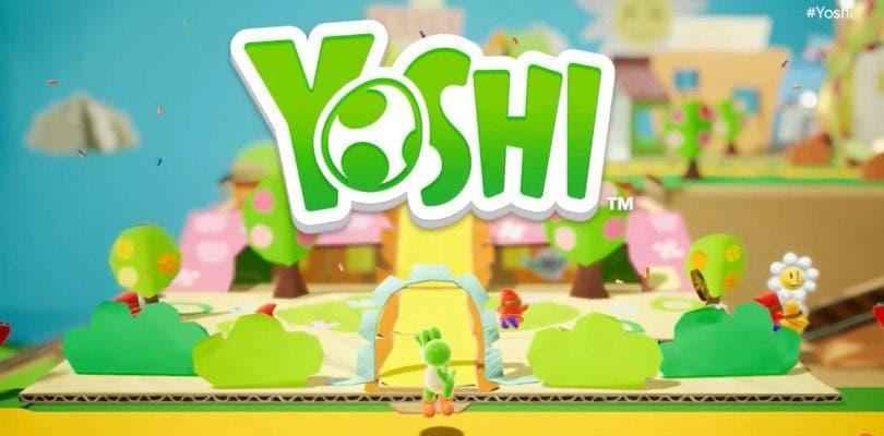 El nuevo Yoshi para Nintendo Switch aparece en una tienda