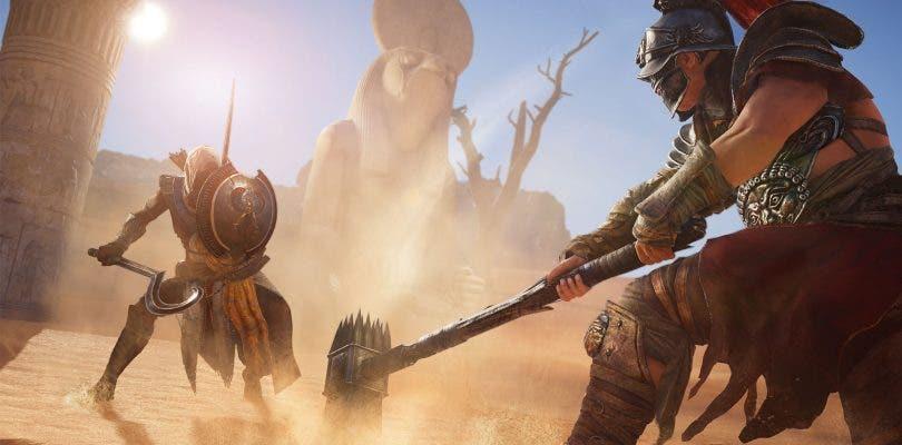 La actualización 1.1.0 de Assassin's Creed Origins llega hoy mismo