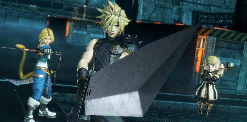 Anunciado Dissidia Final Fantasy NT para PlayStation 4
