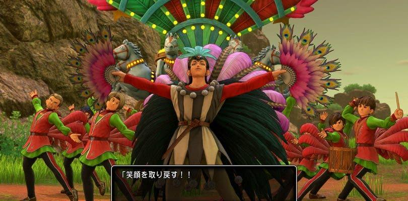 Dragon Quest XI enseña nuevas imágenes de Sylvia en ambas versiones
