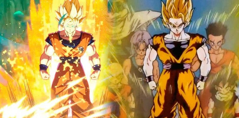 Una comparativa muestra el respeto de Dragon Ball FighterZ  al manga