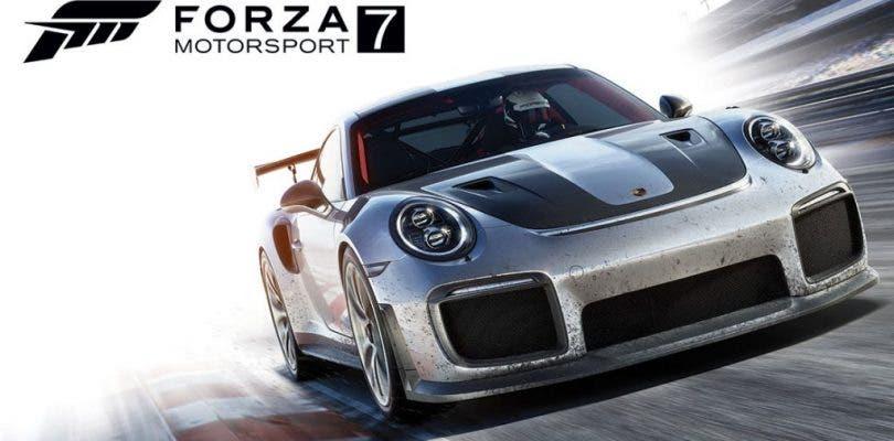 Forza Motorsport 7 se luce en este tráiler de lanzamiento 4K