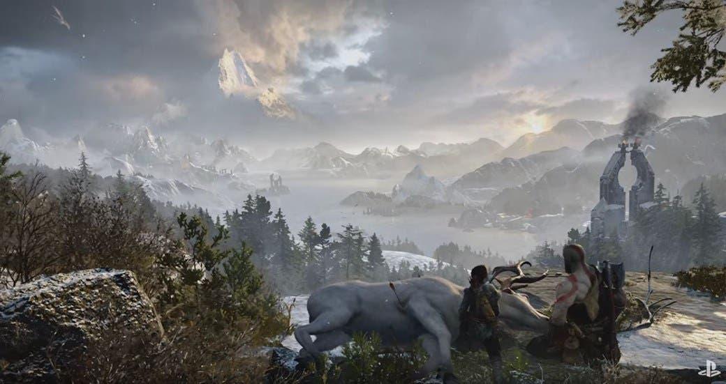 El mural de god of war insiste en mostrar un poderoso enemigo for El mural trailer