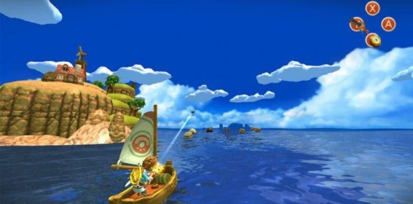 Oceanhorn ya permite hacer capturas de vídeo en Nintendo Switch