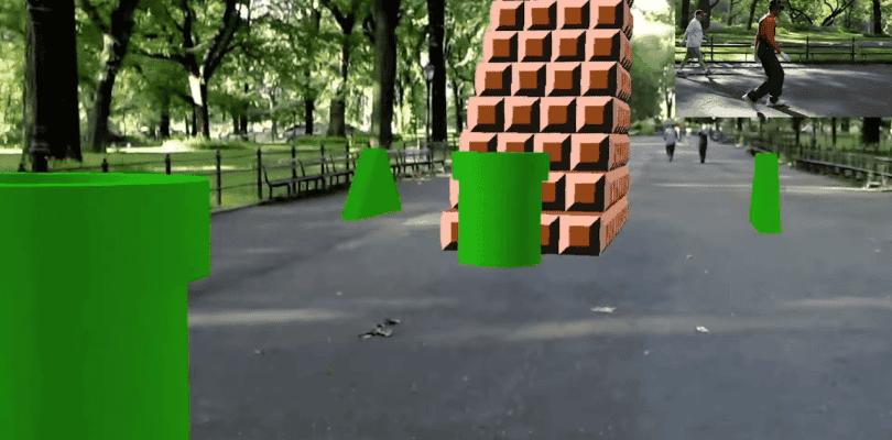 Llega el primer nivel de Super Mario Bros a la realidad aumentada