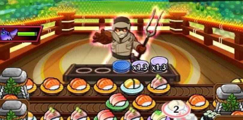 Nintendo anuncia Sushi Striker: The Way of Sushido para Nintendo 3DS