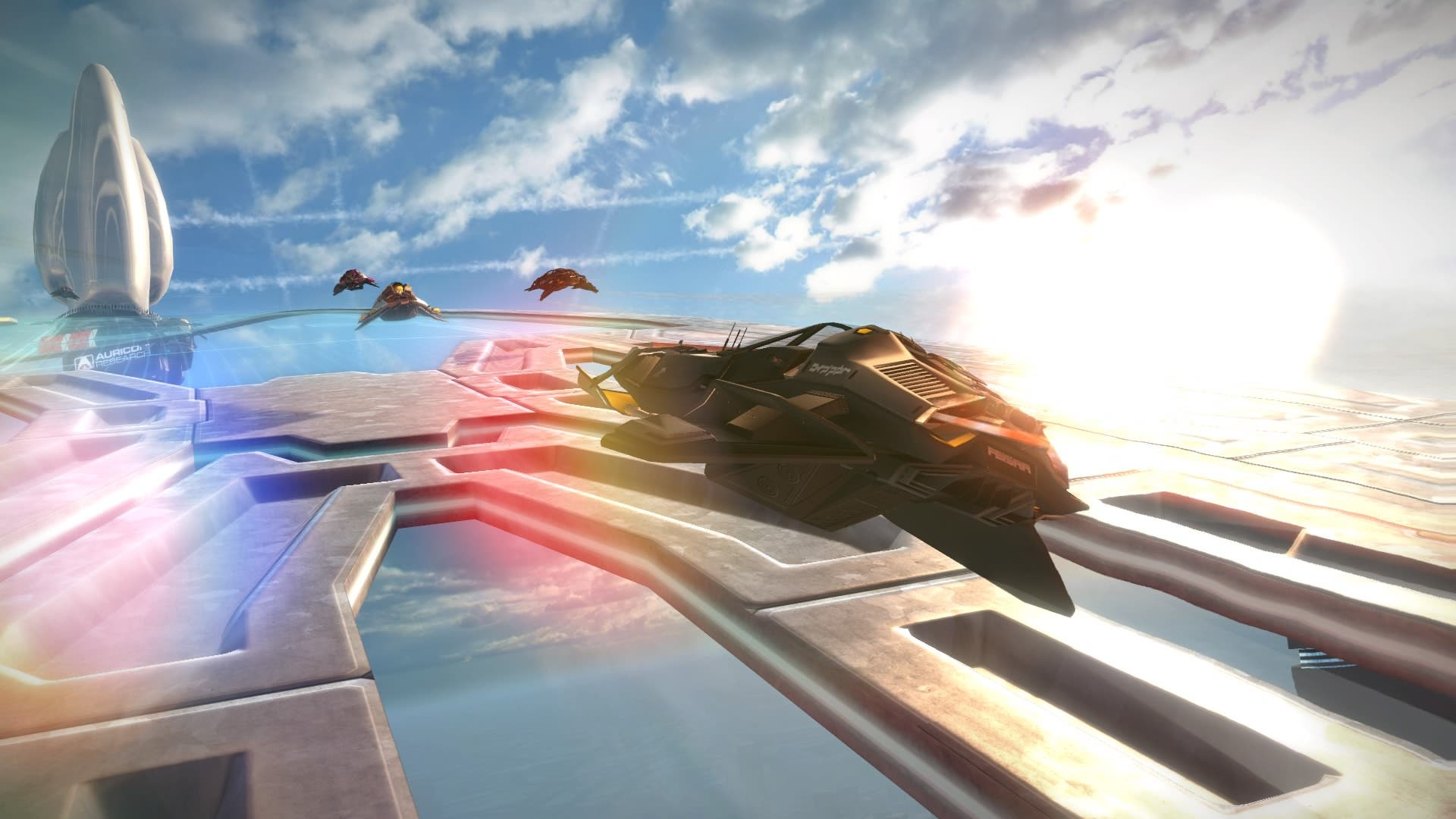 Imagen de Análisis WipEout Omega Collection