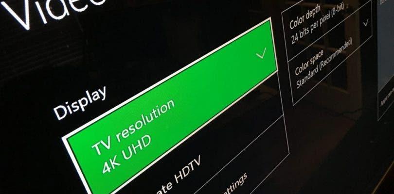 Los parches 4K en Xbox One X se descargarán sin importar el tipo de TV