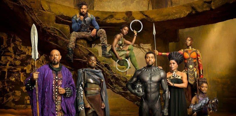 El reparto de Black Panther posa en nuevos pósteres de la película